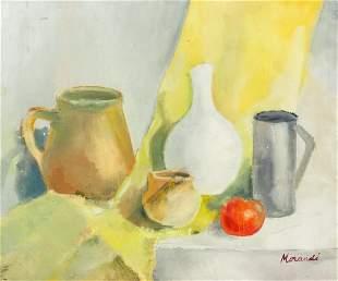 Giorgio Morandi 1890-1964 Italian OOC Still Life