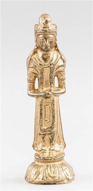 Korean Chinese Small Bronze Buddha