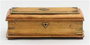 Wooden Rectangular Jewellery Box
