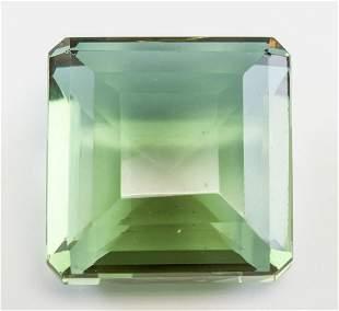 97.05ct Emerald Cut Green Natural Alexandrite GGL