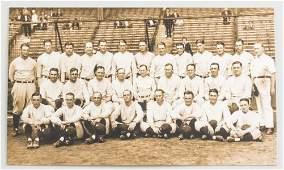 1927 New York Yankees Photo Signed Ruth