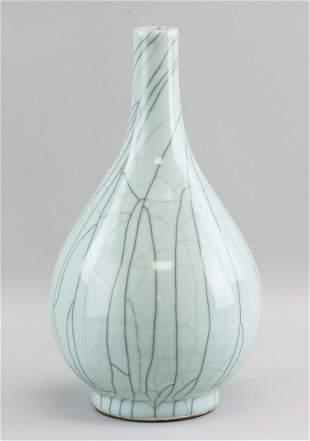 Chinese Crackle Glazed Vase Song Style