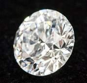 1.00 ct Brilliant Cut D Color VS2 Diamond NGIC