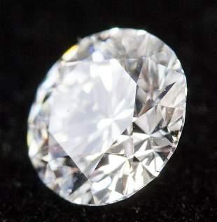 1.02 Ct Brilliant Cut D Color VS2 Diamond NGIC