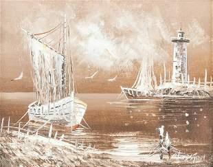 Rikard Lindstrom Swedish Oil on Canvas