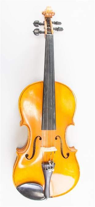 Violin Labelled Carlo Bergonzi 1955