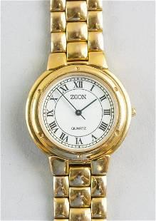 ZEON Stainless Steel Quartz Watch ZR5609