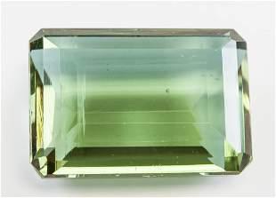 88.25ct Emerald Cut Green Natural Alexandrite GGL
