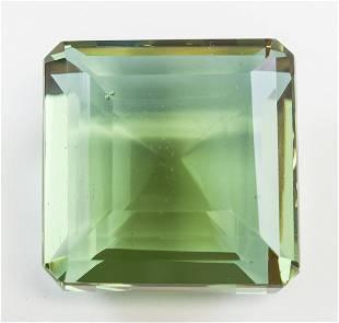 94.35ct Emerald Cut Brown to Green Alexandrite GGL