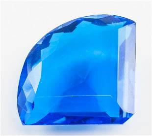 101.60ct Fancy Cut Blue Tanzanite GGL