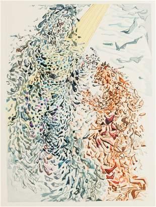 After Salvador Dali Woodblock Engraving on Rives