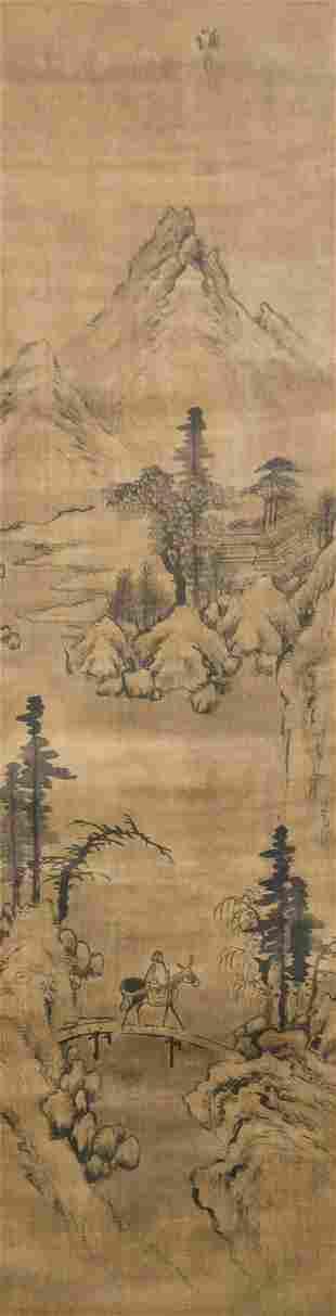 Kyomjae (Jeong Seon) Korean Joseon Watercolor