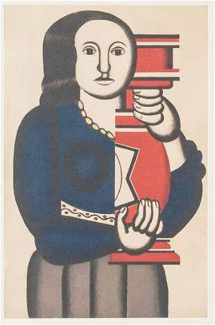 French Lithograph 32/200 Signed F Leger