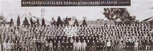 Chinese Picture Mao with Cabinet Members Framed