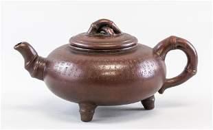 Chinese Zisha Teapot Signed Stamped