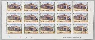 Saint Lucia Christmas 1986 Stamp 10 Cents