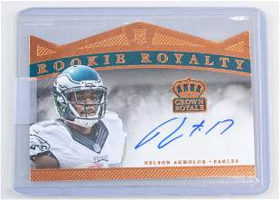 2015 Panini Rookie Royalty Nelson Agholor Auto