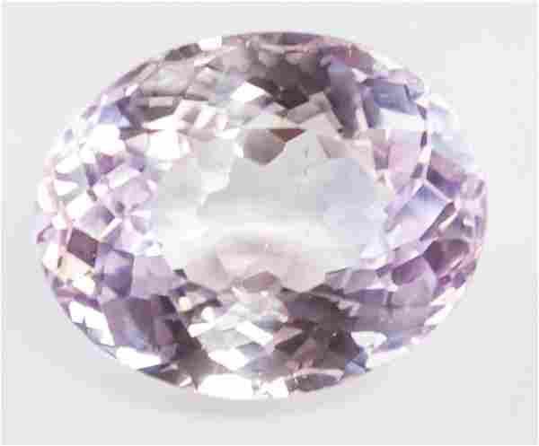 15.95ct Oval Cut Pink Natural Alexnadrite GGL