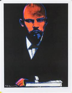 American Litho on Paper 95/200 Signed Andy Warhol