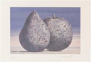 """Belgian Lithograph 122/200 Signed """"magritte"""""""