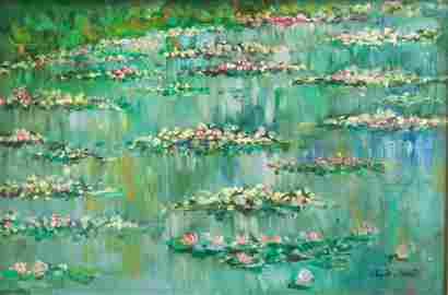 """French OOC Signed Claude Monet """"Galerie KAHNWEILER"""