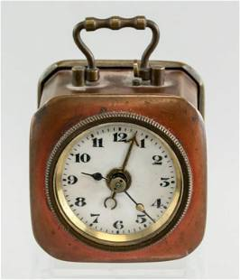 Copper Case Len 2 Kirch Alarm Clock 1900-1920