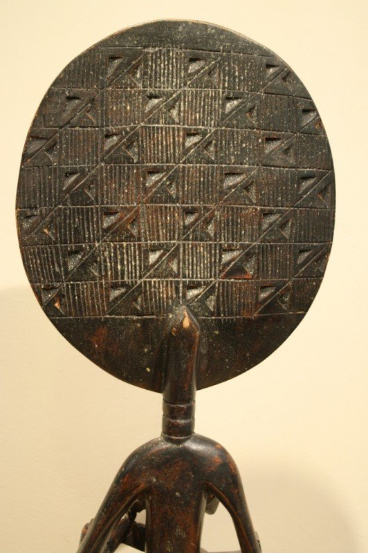 97: Wood African sculpture (symbol of mother nature and - 5