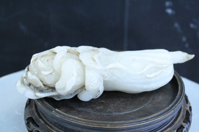 6: Chinese white jade,Qing Dynasty, L: 7