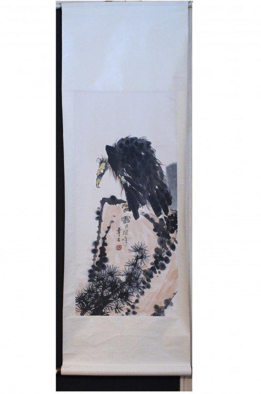 15: Chinese painting, Li Keran, 20 thc , 37 1/2 X 17