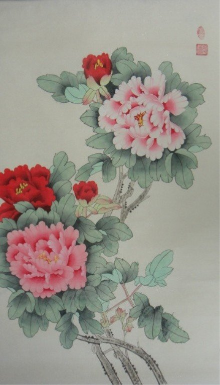 15A: Chang Lu Chinese Watercolor on Paper