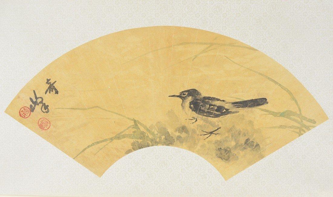 8: Gao Chi Fong (1889-1933) Chinese Fan Painting