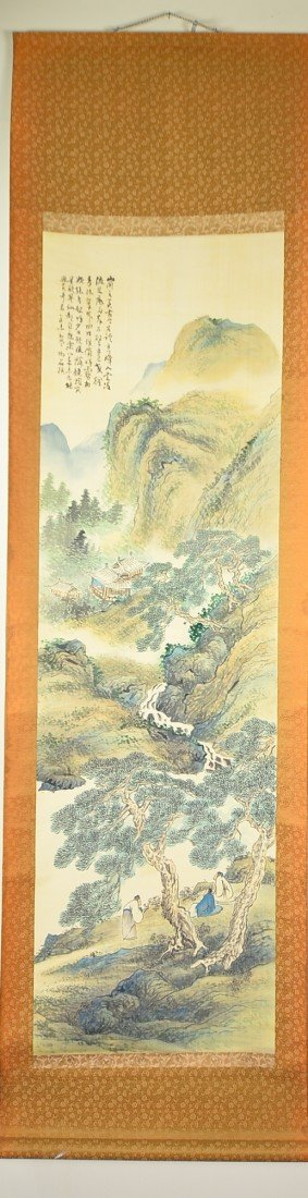 14: Chinese Watercolour on Paper: Landscape