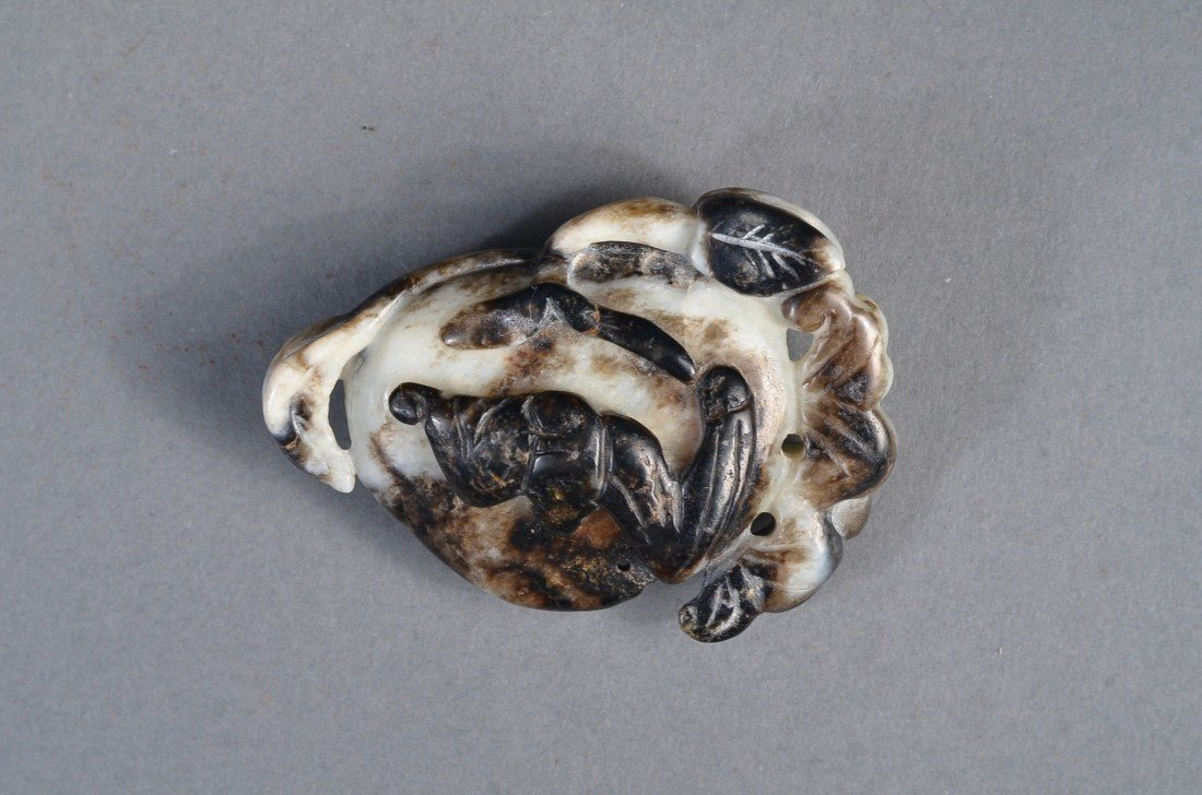 145: Chinese Carved Jade Pendant - 3