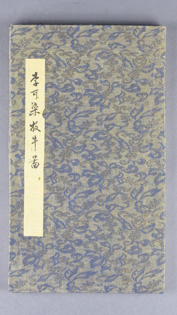 9: Sketchbook Signed Li Keran (1907-1989) 8 Pictures