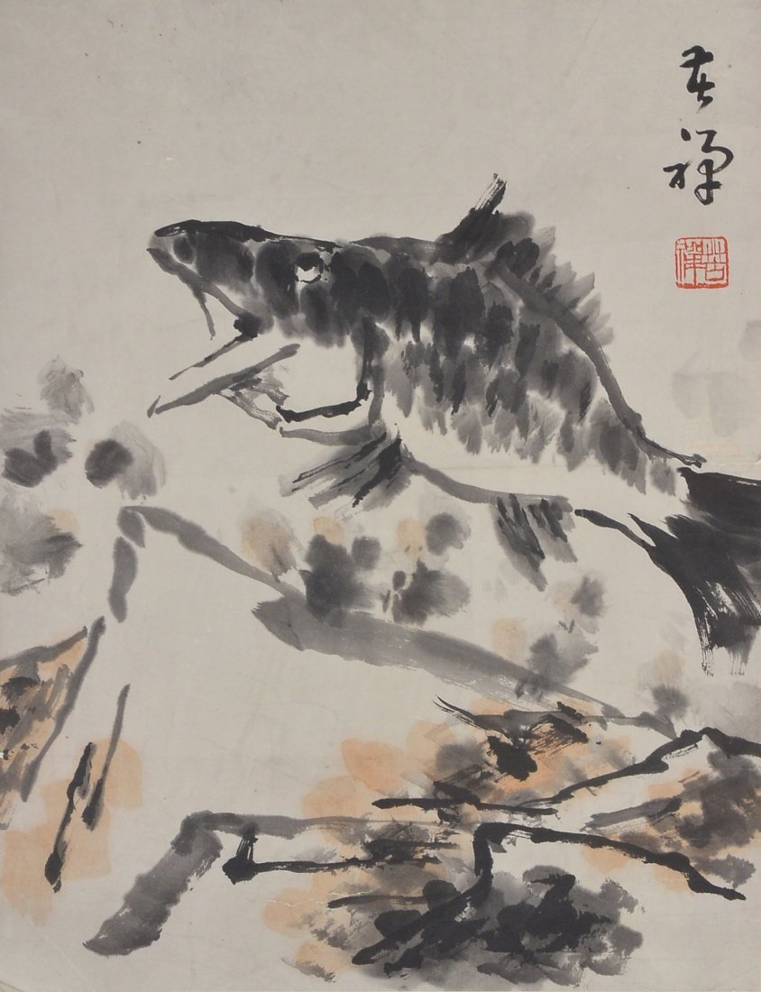 27: Li Kuchan Chinese Watercolour on Paper Painting