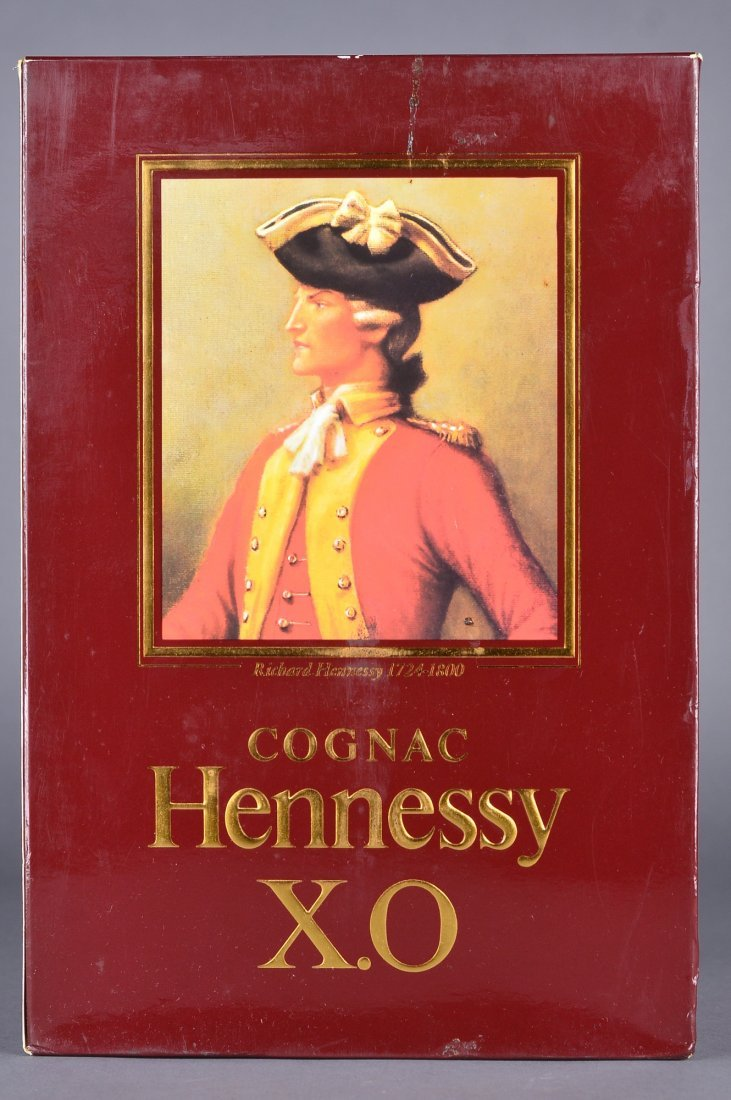 480: Vintage 1980s French Cognac Hennessy X.O