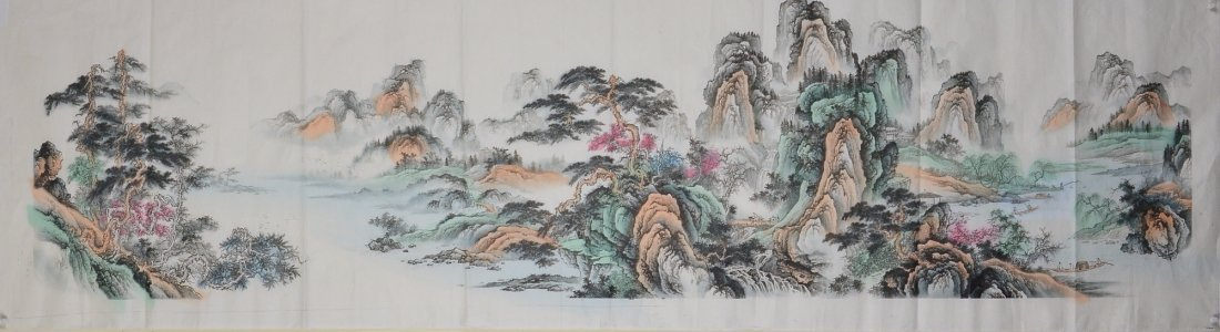3: Set of Three Chinese Script Calligraphy Paintings