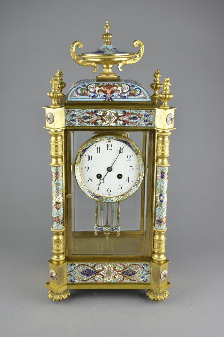 499: Large Chinese Qing Imperial Pendulum Clock