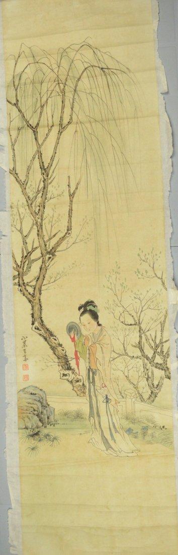 66: Chinese Watercolour Painting Wang Su
