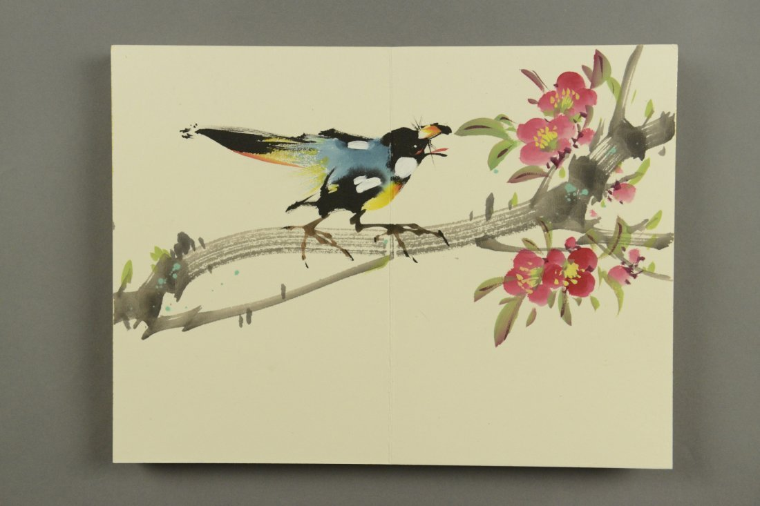 Birds & Blossom Watercolour Book by Zhao Shao Ann