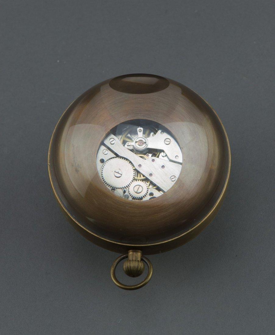 Omega Ball Clock Marked 1882 - 2