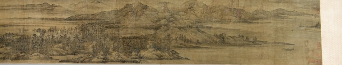Republic Chinese Landscape Painting Wang Meng - 6
