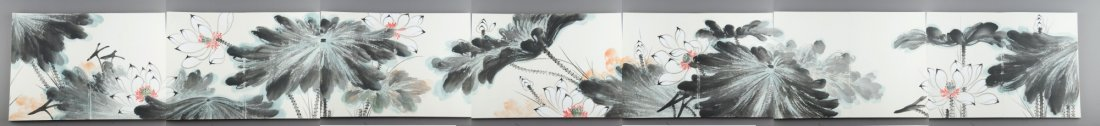 Chinese Watercolour Sketchbook Zhang Daqian Seal