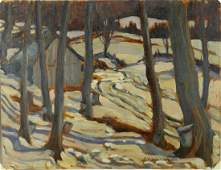 Canadian Oil on Panel A.Y.Jackson 1882-1974