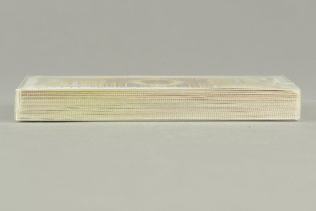 100 Pcs of Chinese Paper  Money (Yi Jiao) Set - 3