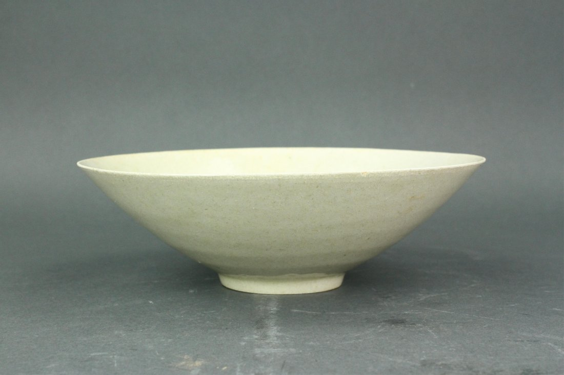 Chinese Celadon Carved Porcelain Bowl Song Period