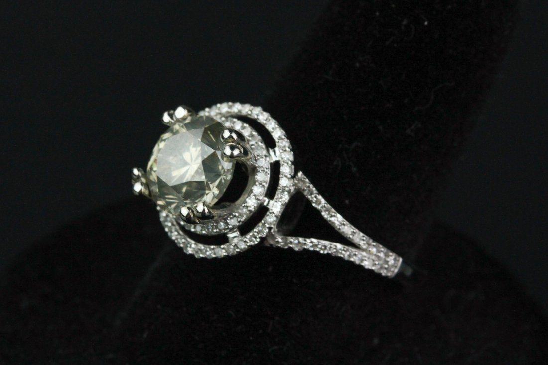 14K Gold 2.0 ct Diamond Ring CRV $22000
