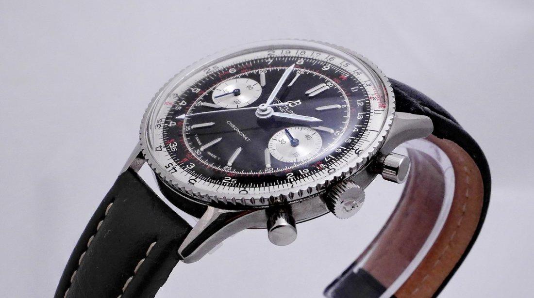 Vintage Breitling Chronomat 217012 Panda Dial 1970 - 10