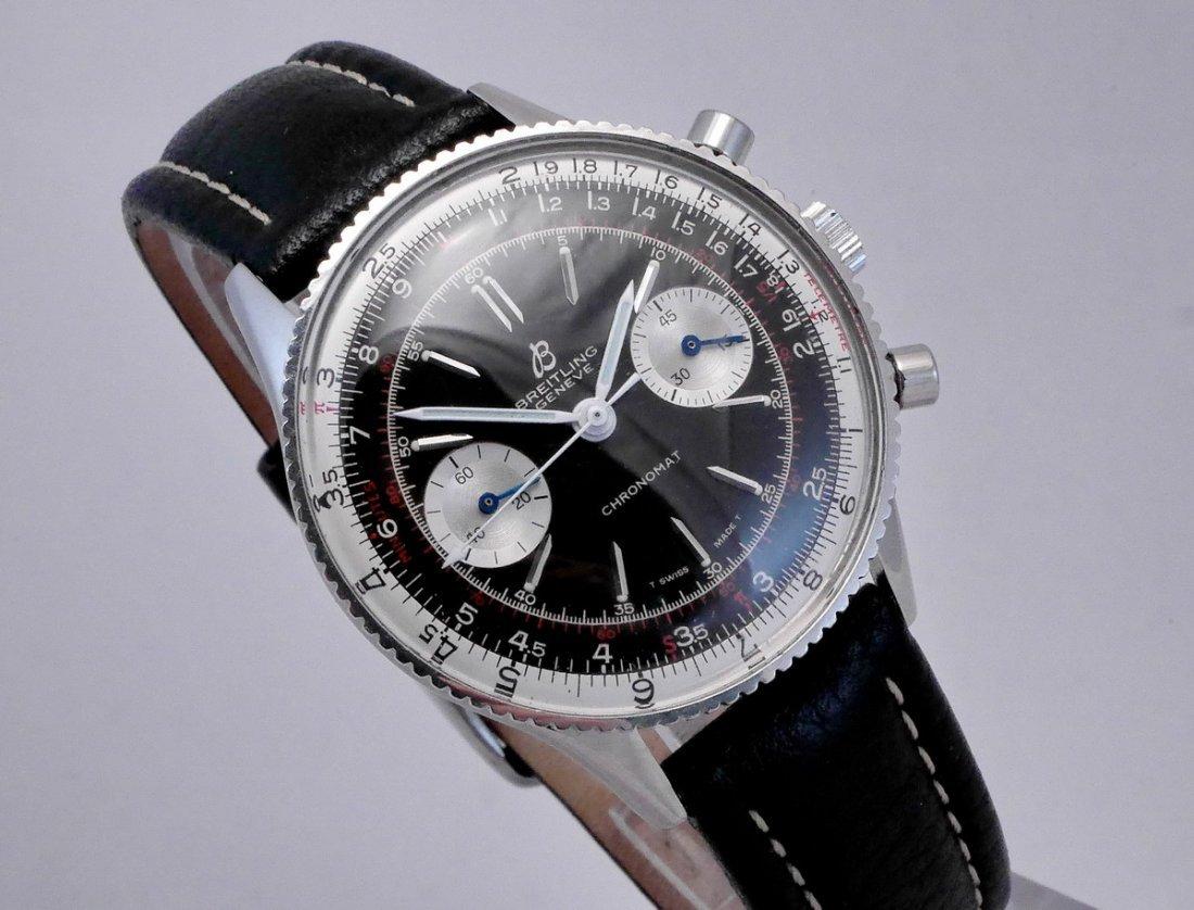Vintage Breitling Chronomat 217012 Panda Dial 1970