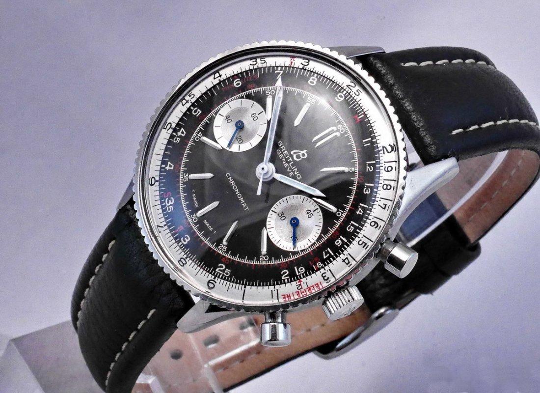 Vintage Breitling Chronomat 217012 Panda Dial 1970 - 2